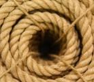 Веревка джутовая 8 мм.